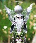 Medium Filigree Angel Statue - Pewter