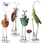 Metal Bug Decor