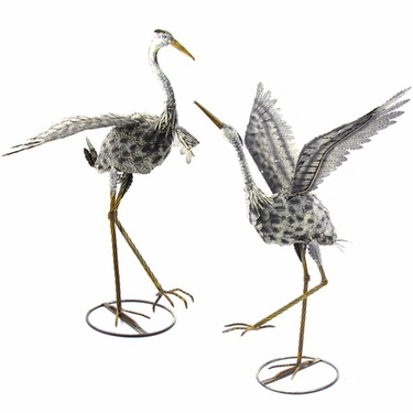 Flying Cranes (Set of 2) - Click to enlarge