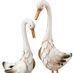 Metal Duck Decor (Set of 2)