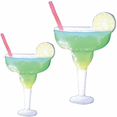 Metal Margarita Wall Art (Set of 2) - Click to enlarge