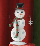 Metal Snowman Decoration