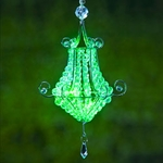 Mini Chandelier LED Light - Green (Set of 4)
