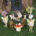 Mini Fairy Garden Kit (8pc)