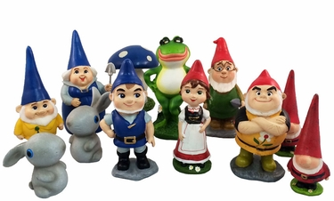 Miniature Gnomeo & Juliet (12-pack) - Click to enlarge