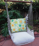 Modern Green Circles Hammock Chair Swing Set