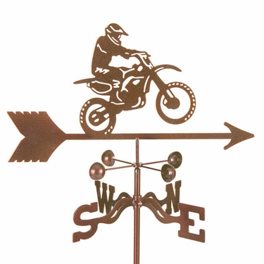 Motocross Motorcycle Weathervane - Click to enlarge