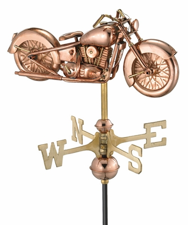 Motorcycle Weathervane - Click to enlarge