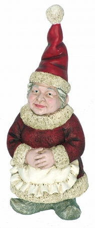 Mrs. Clause Garden Gnome - Click to enlarge