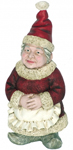 Mrs. Clause Garden Gnome