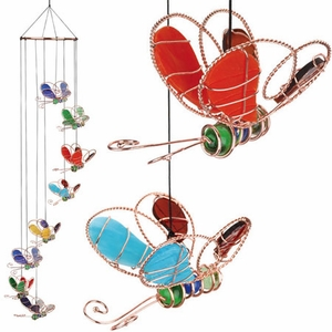 Butterfly Spiral Suncatcher - Click to enlarge
