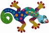 Multi-Colored Spotted Gecko Wall Decor