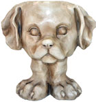 Muttley Dog Planter