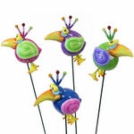 Mynah Bird Garden Stakes (Set of 6)