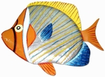 Necklace Butterfly Fish Wall Art