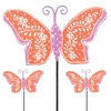 Orange Butterfly Picks (Set of 6)