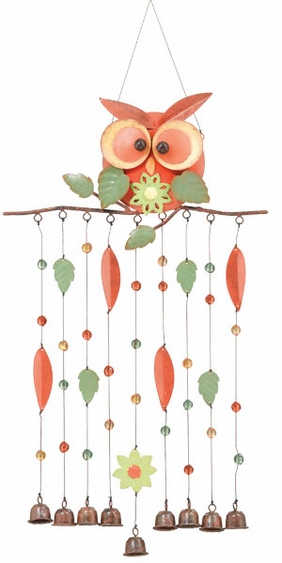 Owl Branch Chime - Click to enlarge