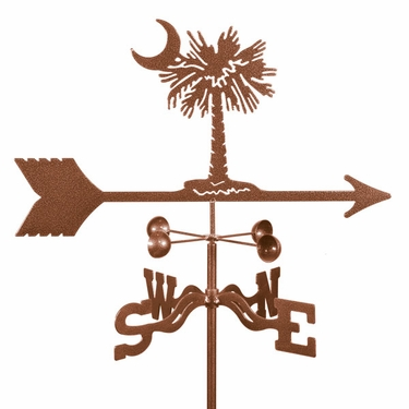 Palmetto Weathervane - Click to enlarge