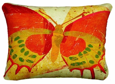 Paper Butterfly 1 Outdoor Pillow - Click to enlarge