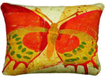 Paper Butterfly 1 Outdoor Pillow