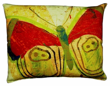 Paper Butterfly 2 Outdoor Pillow - Click to enlarge