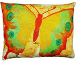 Paper Butterfly 4 Outdoor Pillow