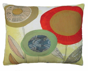 Paper Garden 5 Outdoor Pillow - Click to enlarge