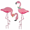 Party Flamingo Garden Stakes (Set of 2)