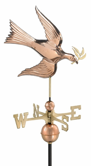 Peace Dove Weathervane - Click to enlarge