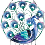 Peacock Circle Hanging Decor