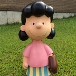 "Peanuts 19"" Lucy Statue - Painted Finish"