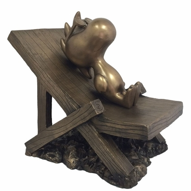 Peanuts Woodstock Collectible - Antique Bronze - Click to enlarge
