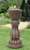 Pedestal Column Outdoor Fountain