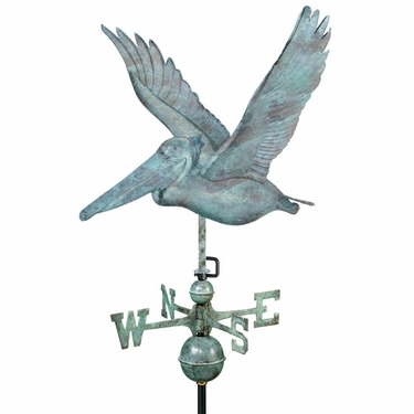 Pelican Weathervane - Click to enlarge