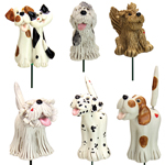 Pence Pets Dogs Plant Stakes (Set of 6)