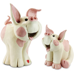 Happy Pigs (Set of 2)