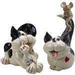 Playful Cats (Set of 2)