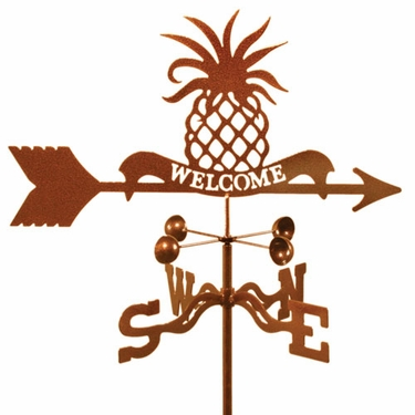 Pineapple Welcome Weathervane - Click to enlarge