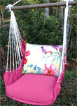 Pink Aviary 2 Birds Hammock Chair Swing Set