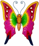 Pink Butterfly 3D Wall Decor