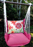 Pink Collection Bumblebee Hammock Chair Swing Set