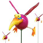 Pink Dodo Birds (Set of 6)