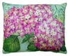 Pink Hydrangea Outdoor Pillow