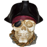 Pirate Skull Decor