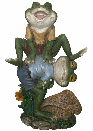 Playful Frogs Statuary - Click to enlarge