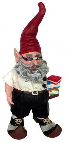 Poindexter Nerd Gnome - Click to enlarge