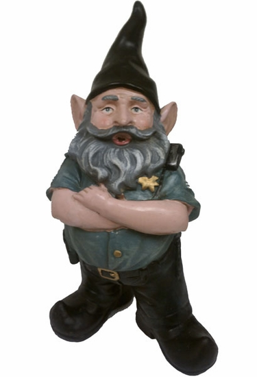 Police Gnome - Click to enlarge