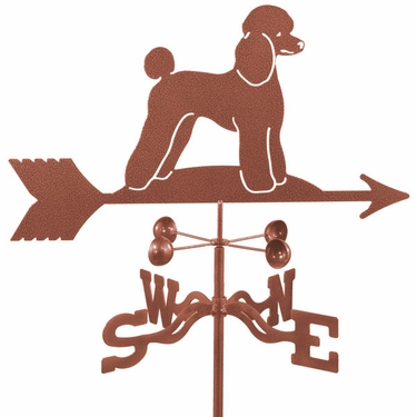 Poodle Dog Weathervane - Click to enlarge