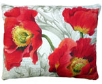 Poppies Outdoor Pillow