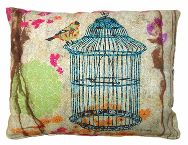 Prism Garden 9 Outdoor Pillow - Click to enlarge